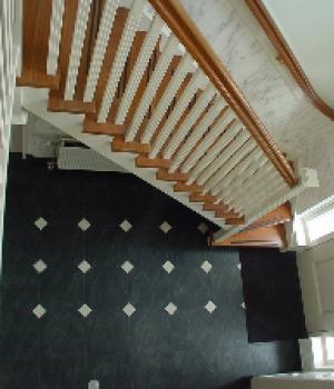 Engelse stijl trappen