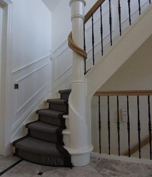 Exclusieve houten trappen